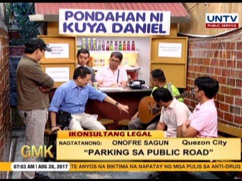 Parking sa public Road |  Ikonsultang Legal