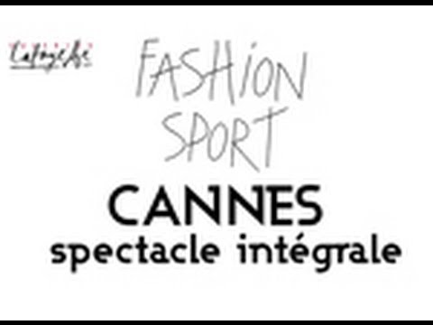 CannesShopping Festival 2013 - Fashion Sport par Galeries Lafayette