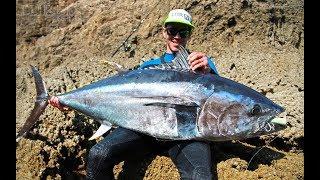 Dünya Rekoru Kıyıdan Mavi Yüzgeçli Orkinos Avı ( World Record Land Based BFT )