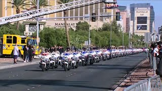 Slain Lawman Honored With Vegas Procession