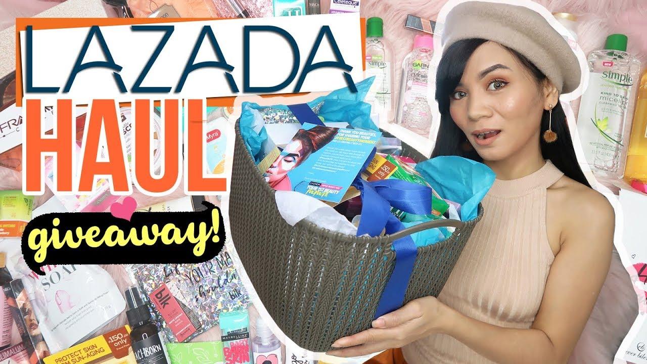 LAZADA HAUL (Makeup and Skin Care) + GIVEAWAY!!