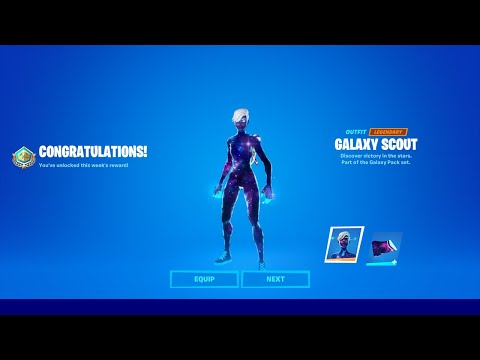 How To Get Galaxy Scout NOW FREE In Fortnite! (Unlock Galaxy Scout Skin) Free Galaxy Pack Bundle