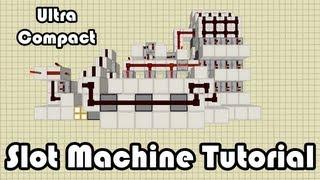 Compact Slot Machine Tutorial! Minecraft (Survival Friendly)