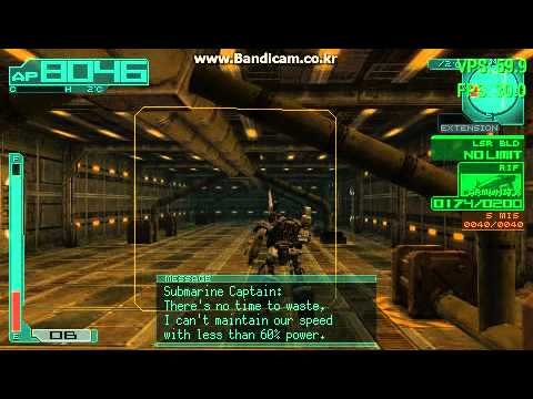 Ppsspp Armored Core 3 Portable Youtube