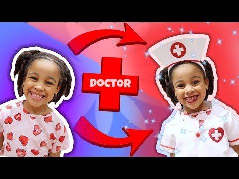 Cali Transforms into Doctor Girl!