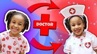 Cali Transforms into Doctor Girl!