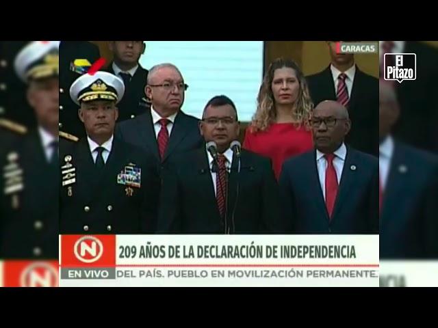 """Néstor Reverol: """"Seguiremos garantizando paz, independencia, libertad y soberanía"""""""
