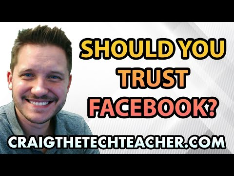 Do You Trust Facebook With Your Personal Information?