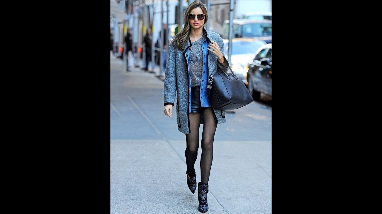 c89b5248f92fdf Chic Fall Winter Outfits With Mini Skirt - YouTube