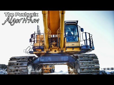 Moving The Komatsu 1250 | The Pushysix Algorithm Episode 1