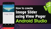 Android Auto Image Slider with round Indicator - YouTube