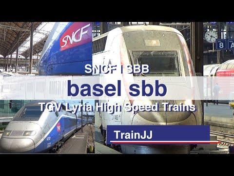 TGV Lyria Trains | Paris to Zurich Hb | Basel SBB | TGV Lyria 9211 / 9222 / 9213