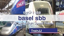 TGV Lyria Trains | Paris to Zurich Hb | Basel SBB | TGV Lyria 9211 / 9222 / 9213