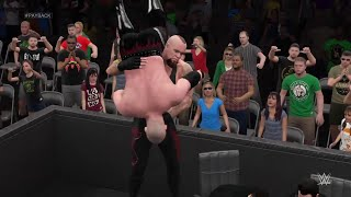 WWE 2K15- The Undertaker vs Kane Last Man Standing Match at Payback 2015 (PS4)