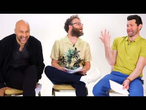 Seth Rogen, Billy Eicher, and Keegan-Michael Key Played Lion King Trivia and I Can't Stop Laughing