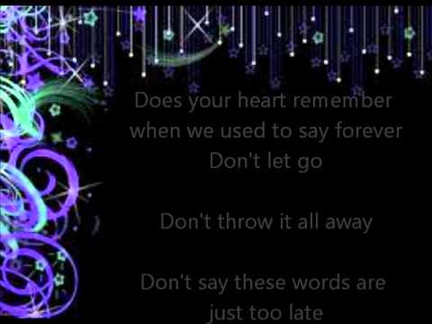 One Last Chance-Daughtry (Lyrics)