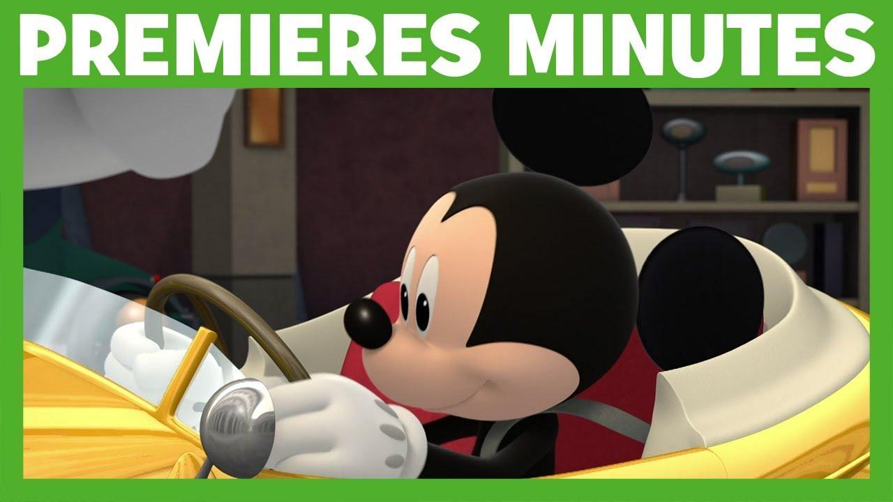 Mickey et ses amis top d part la voiture de - Amis de mickey ...