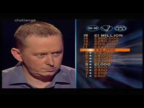 Who Wants to Be a Millionaire UK - 29th, 31st March, 2001 (2/3)