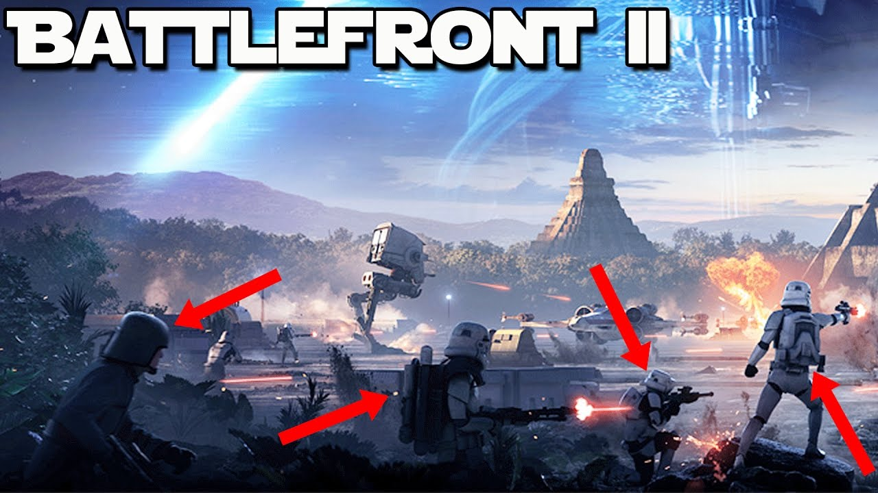 star wars battlefront 2 new classes customization u0026 player