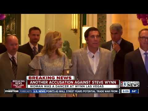 UPDATE: New woman accuses Steve Wynn of sexual harassment