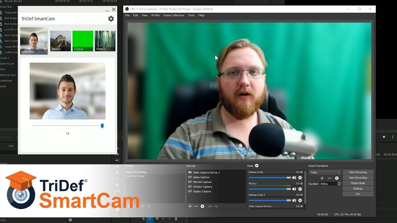 TriDef Smartcam Review - Decent Greenscreen Alternative