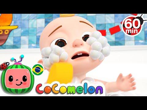 CoComelon em Português   Hora de dormir   Músicas Infantis   Compilação de Desenhos Animados