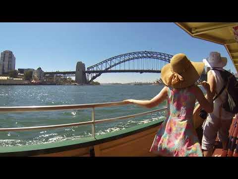 McMahons Point to Circular Quay ferry trip 19/01/2018