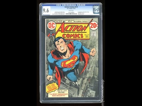 2014 Colorized Action Comics Superman from the Royal Canadian Mint (silver stacking unboxing)