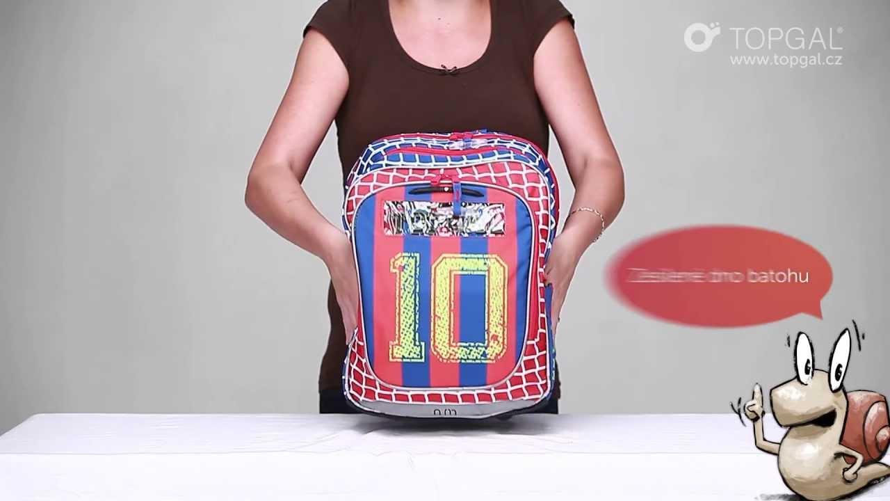 Videorecenze školního batohu Topgal - NUN 208 - YouTube deb27213fb