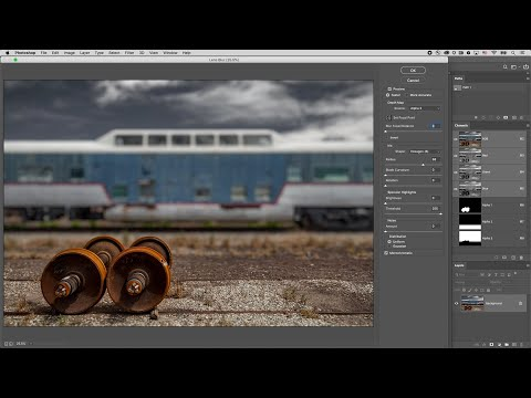 The Lens Blur Filter In Photoshop
