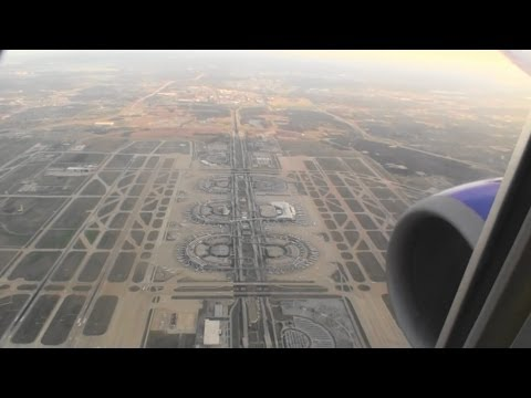 Awesome HD Boeing 737-700 Landing At Dallas Love Field on Southwest Airlines!!!