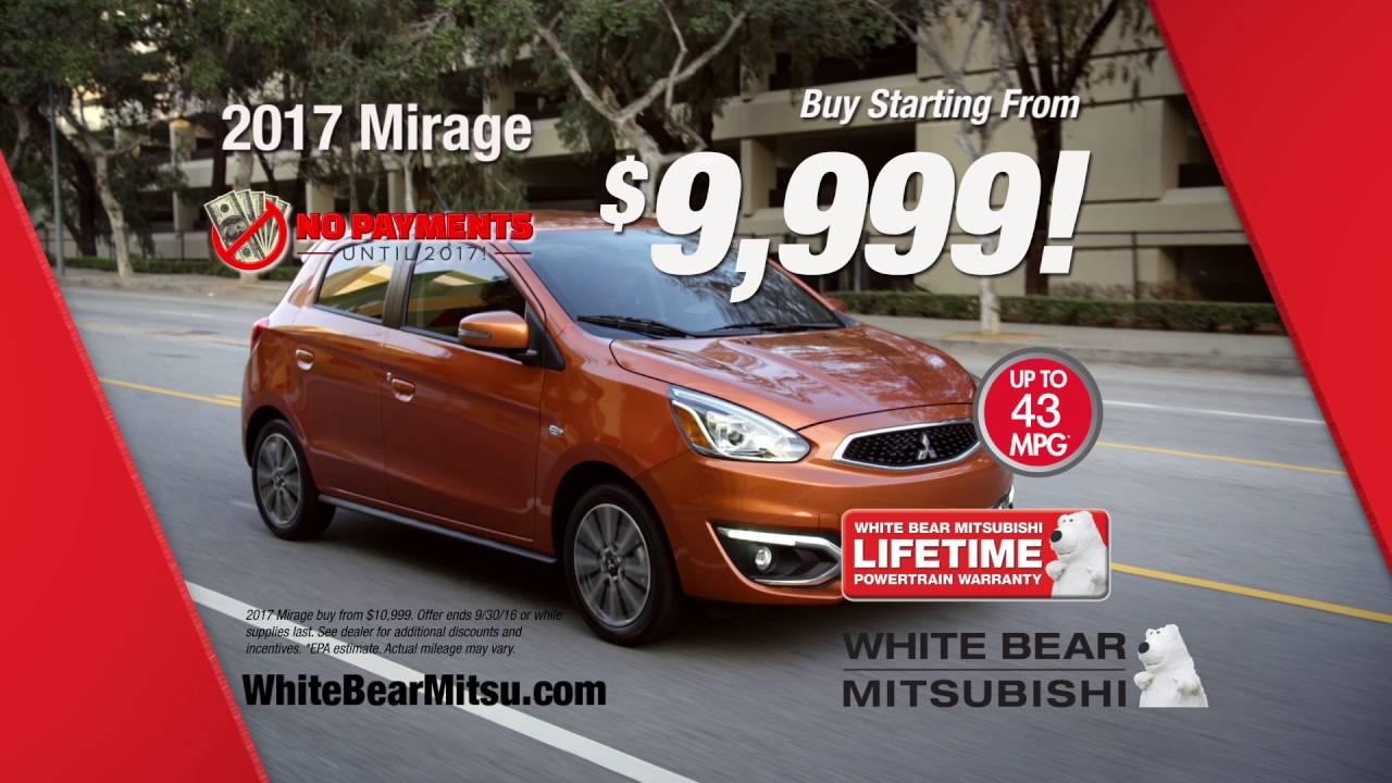 Mitsubishi mirage lease