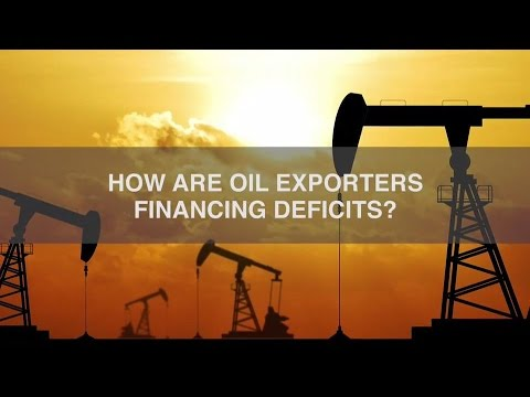How are Oil Exporters Financing Deficits?