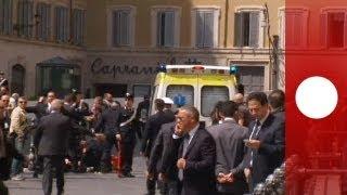 Sparatoria davanti a Palazzo Chigi, due carabinieri feriti thumbnail