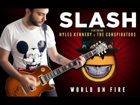Slash – World On Fire Cover