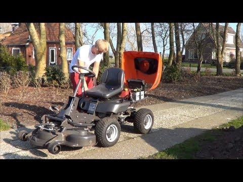 troubleshooting husqvarna lawn tractor ride on mowers doovi. Black Bedroom Furniture Sets. Home Design Ideas