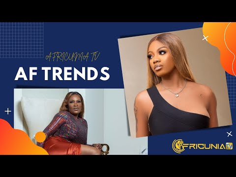AF TRENDS Ep11 | 2Face baby mama; Nkechi blessing collapses; Angel's relationship status