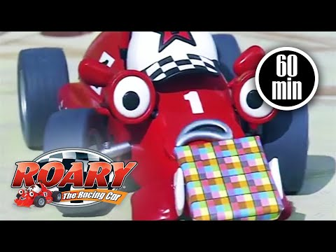 Roary The Racing Car | 1 HOUR COMPILATION | Full Episodes | Videos For Kids | Kids Movies