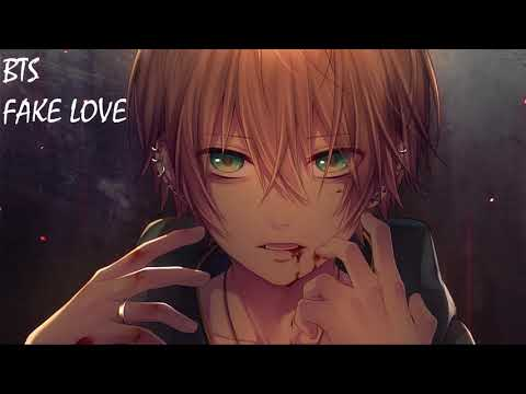 Nightcore - FAKE LOVE _ BTS (방탄소년단)