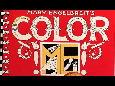 - AdultColoring In Mary Engelbreit's Book - YouTube