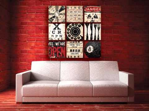 Red Wall Decor Home Decorators Collection Décor