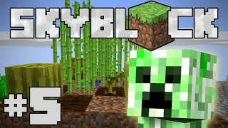 Minecraft- SkyBlock [5] FARMING FOR GOLD!
