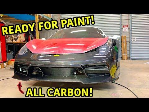 Rebuilding A Wrecked Ferrari 458 Spider Part 11