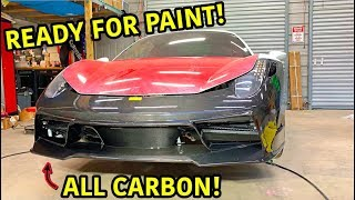 Rebuilding A Wrecked Ferrari 458 Spider Part 11
