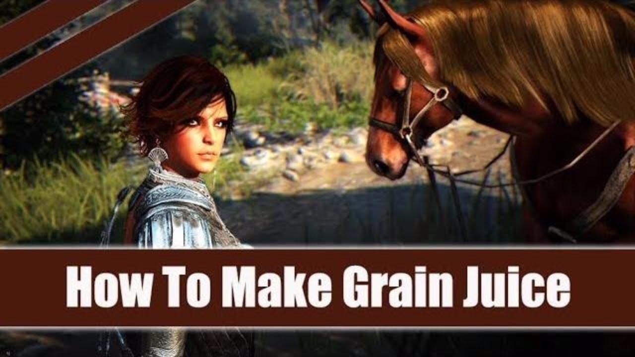 Black Desert Online How To Make Grain Juice Simple Cooking