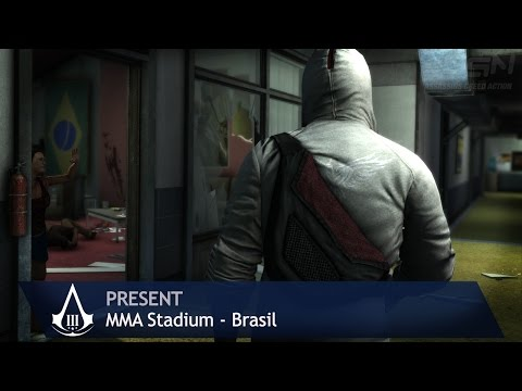 Assassin's Creed 3 - Present Day - MMA Stadium [Brasil] (100% Sync)
