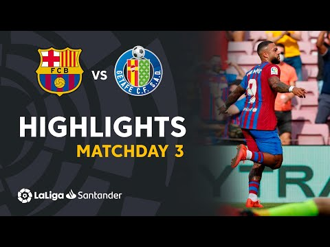 Barcelona Getafe Goals And Highlights