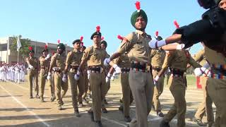 ANCHOR PROF.RANDHAWA-MARCH PAST --D A V COLLEGE AMRITSAR -ANNUAL SPORTS MEET