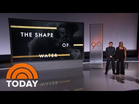 'Shape Of Water' Leads Oscar Nominations With 13, Including Best Picture   TODAY