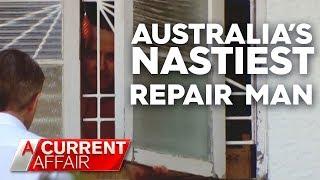 Australia's rudest repairman   A Current Affair